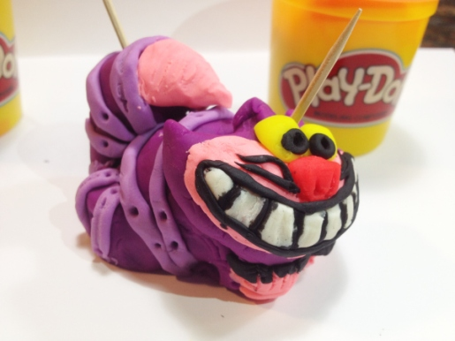 "Won""doh""land Cheshire Cat by Kristina DeRycke"