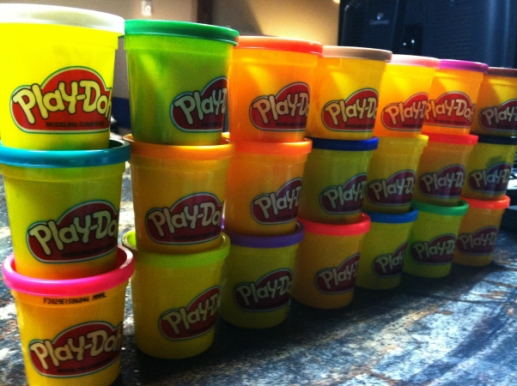 Our medium: Play-Doh