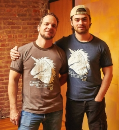 Science is Magic - Anatomical Unicorn Tee - Men's Ringer T-shirt